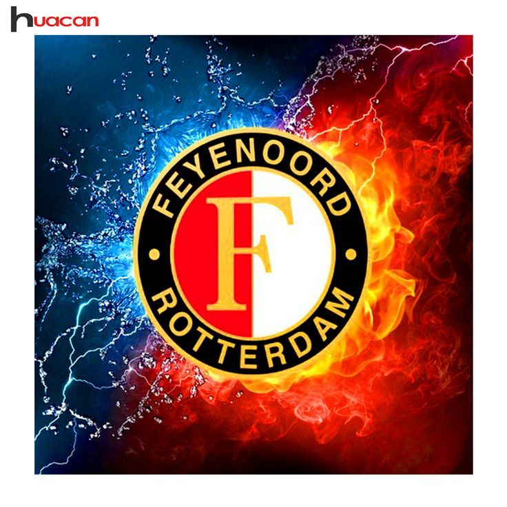 Diamond Embroidery Feyenoord Logo Series Diy Mosaic Diamond Painting Cross St Cross Diamond Diy Embroidery Fancyhand Kruissteek Handwerk Borduurwerk