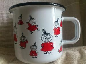 Little My, Moomin mug, enamel, Arabia, Finland | eBay