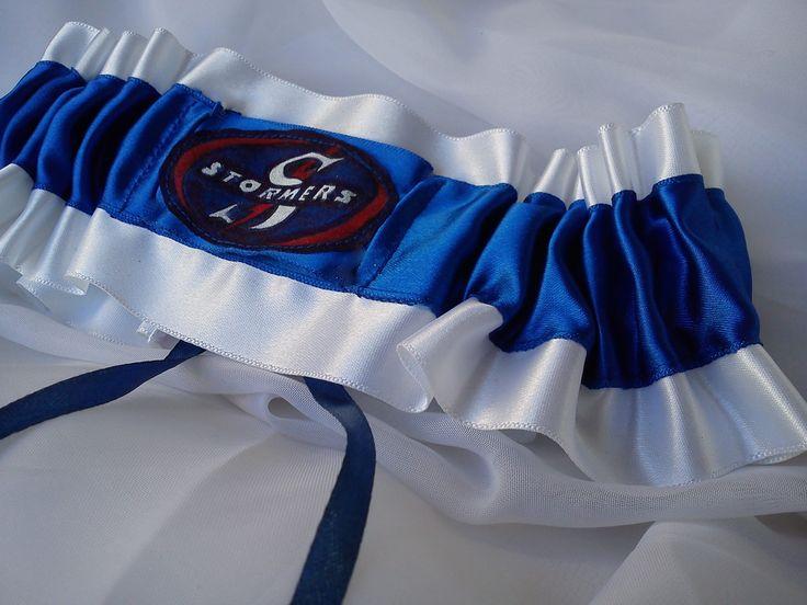 Rugby football Wedding Garters Stormers Blue Bulls ect exclusivextras.wordpress.com