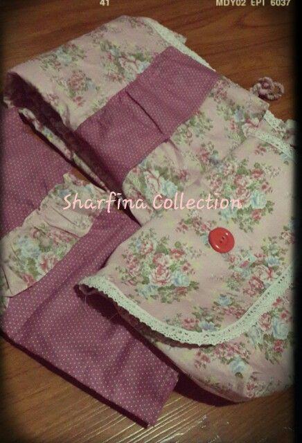 Mukena katun jepang SHARFINA COLLECTION fb : sharfina shop II