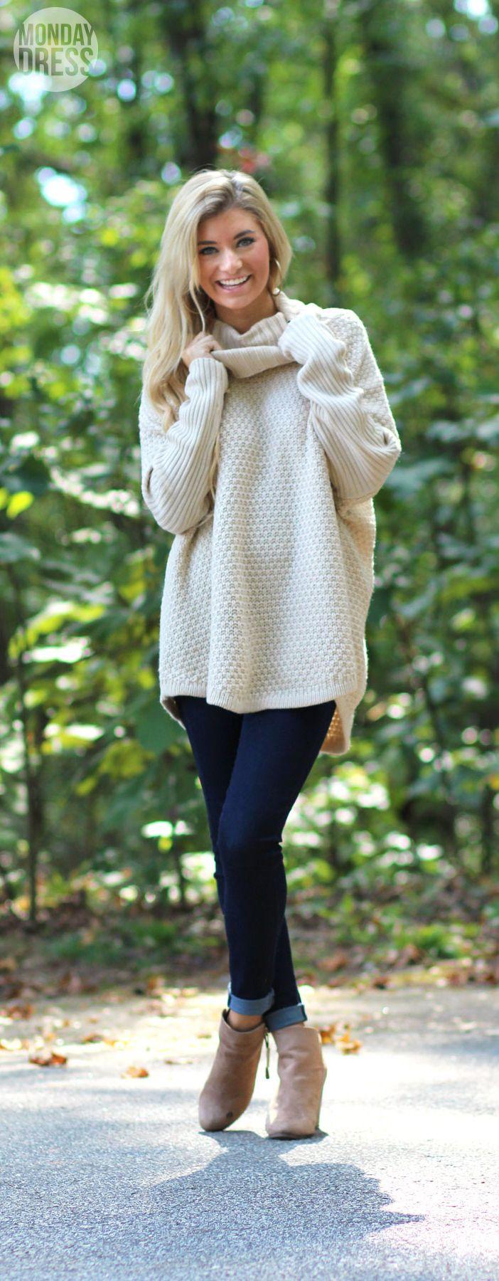 Bundle Up Babe Sweater | Monday Dress