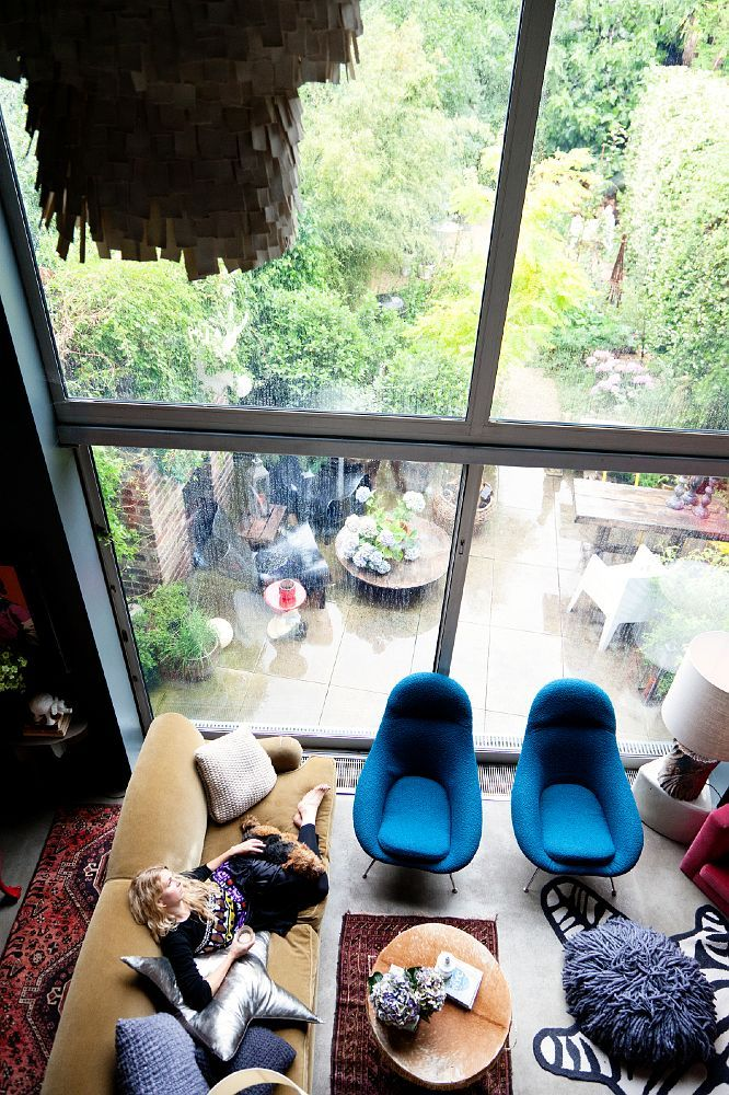 xxx: Big Window, Living Rooms, Dreams Houses, Abigailahern, Chairs, The View, Interiors Design, Huge Window, Abigail Ahern