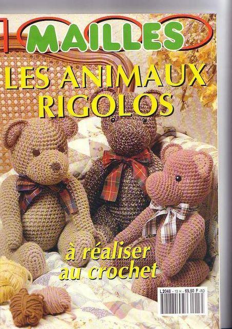 1000 Mailles - les animaux rigolos