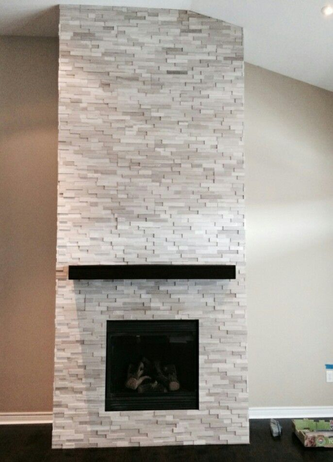 14 best images about Stone Fireplaces on Pinterest | Stone ...