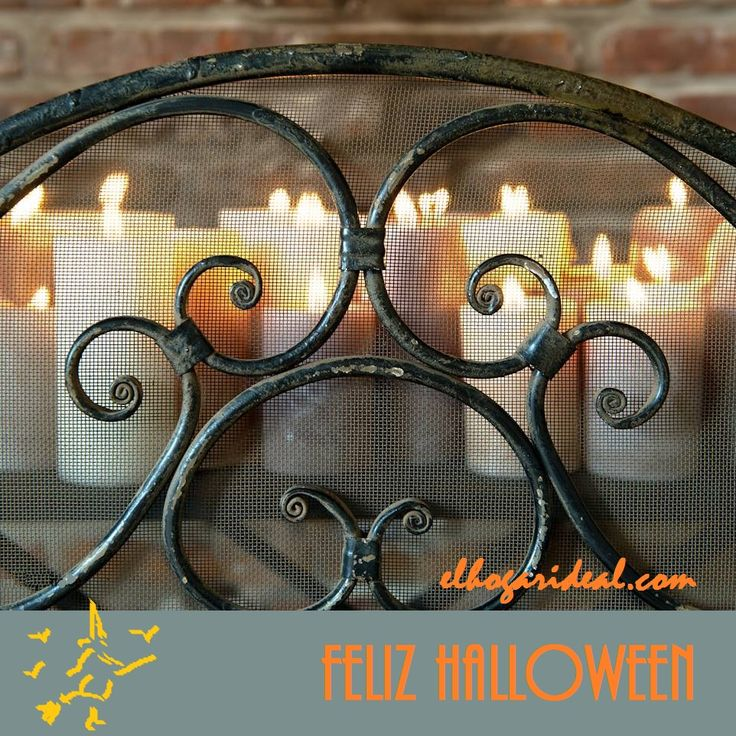 ¿Una noche de Halloween a la luz de las velas? El Hogar Ideal anima las veladas más divertidas. http://elhogarideal.com/es/4-dormitorio