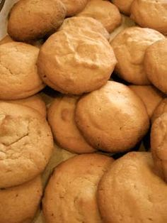 Banana Cake Mix Cookies... this is a great idea, using boxed cake mix and mashed banana... I will totally be adding chocolate chips to these :)