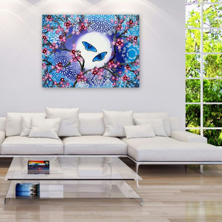 New wall art on canvas is available  at  SheerJoy.etsy.com