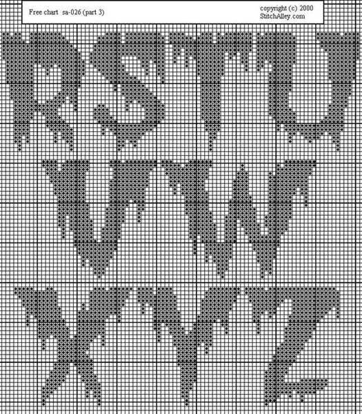 Horror alphabet