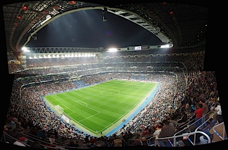 A Real Madrid game