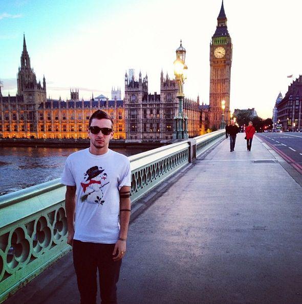 Tyler Joseph in London
