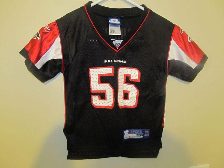 Keith Brooking - Atlanta Falcons jersey - Reebok Toddler 4T