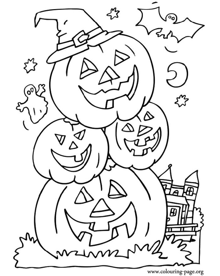 Get The Latest Free Halloween Coloring Book For Adults Images Favorite Pages To Print Online By ONLY COLORING