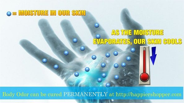 Is sweating good     Good news: Body odor can be cured PERMANENTLY Now at www.happiershopper.com