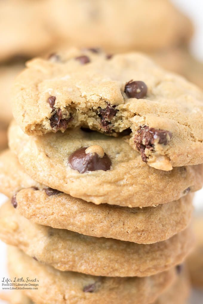 These Coconut Chocolate Chip Cookies are soft, chocolate-y and have delicious coconut flakes throughout. A sweet and Summer-y spin on the classic Chocolate Chip Cookie. This cookie recipe is made with LouAna Coconut Oil. (makes about 38 cookies) #ad #Crea