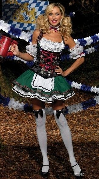 Halloween Pageant Wear Women Ladies Oktoberfest German Beer Fancy Halloween  Costumes halloween costume