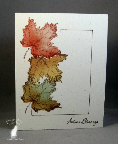 CAS136 CAS Autumn Blessings_lb by Clownmom - Cards and Paper Crafts at Splitcoaststampers