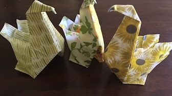 Wrapigami - Learn how to create a bird bowl with a beeswax wrap.   Mixed Mod Shop - YouTube
