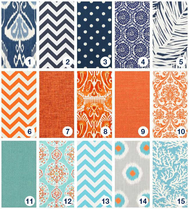 Dark blue, orange, and turquoise - which would you choose?
