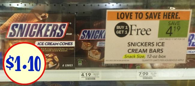New Mars Ice Cream Multi-Pack Coupon For The Publix BOGO Sale