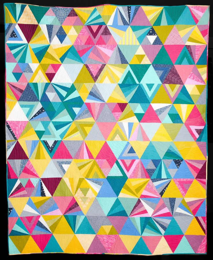 Tessellation Quilt Pattern By Alison Glass Modern Quilt Stuff I Made Pinterest