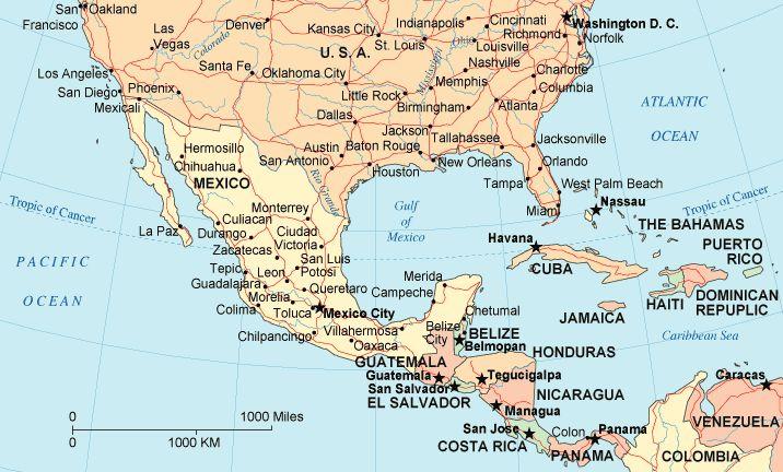 Central American Caravans Depart Mexico City