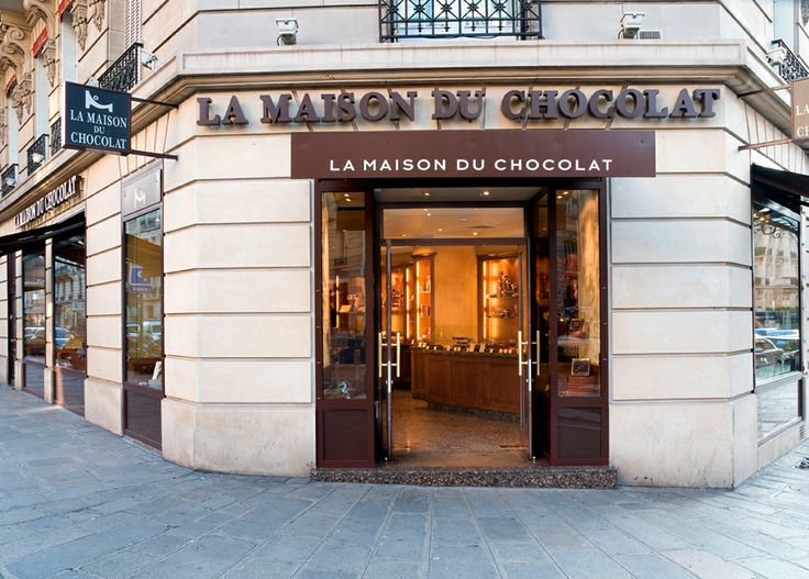 boutique la maison du chocolat rue francois 1er paris. Black Bedroom Furniture Sets. Home Design Ideas