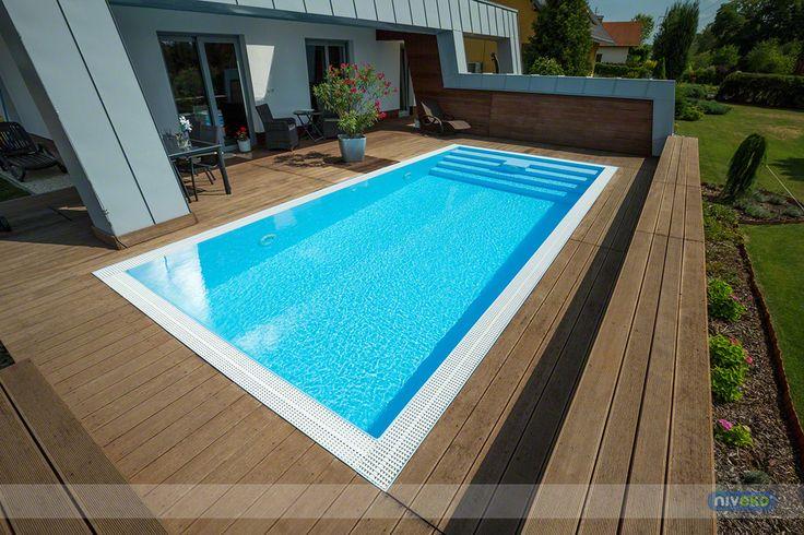 NIVEKO Multi » niveko-pools.com #lifestyle #design #health #summer #relaxation #architecture #pooldesign #gardendesign #pool #swimmingpool #pools #swimmingpools #niveko #nivekopools