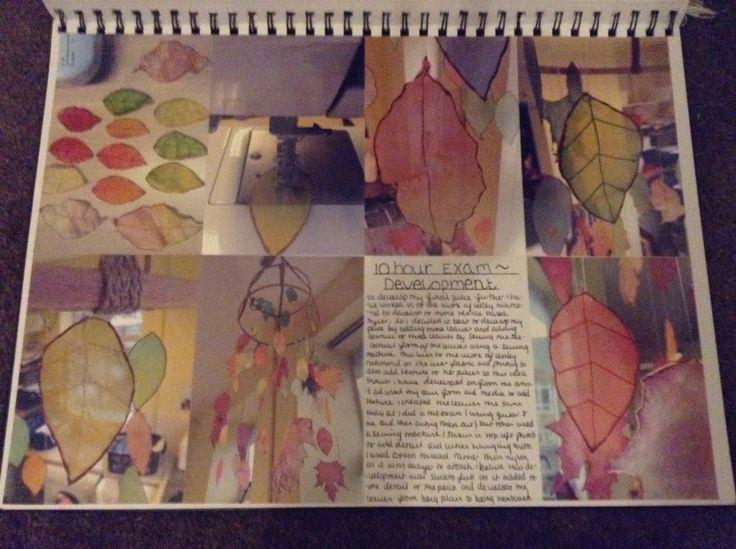 Art exam development