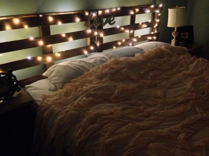 The 25 Best Headboard Lights Ideas On Pinterest Rustic Wood Wooden And Decorating Bedrooms
