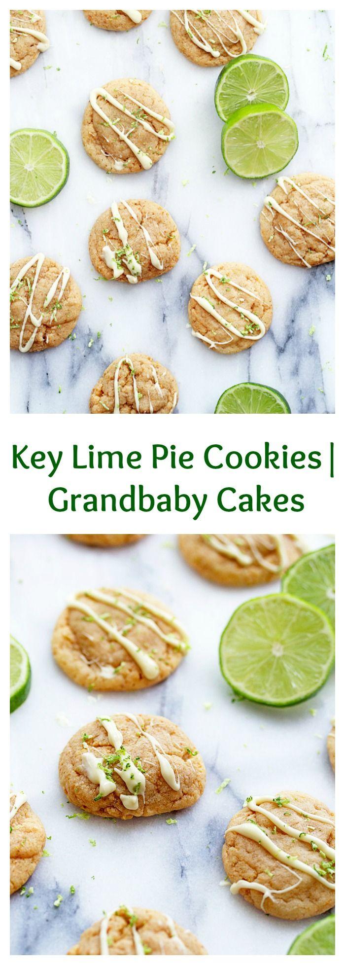 Key Lime Pie Cookies | Grandbaby Cakes