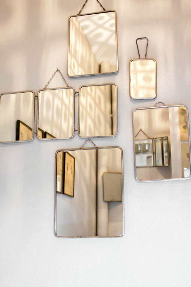 Accrocher miroir au mur simple supporte un poids maximum for Accrocher un miroir