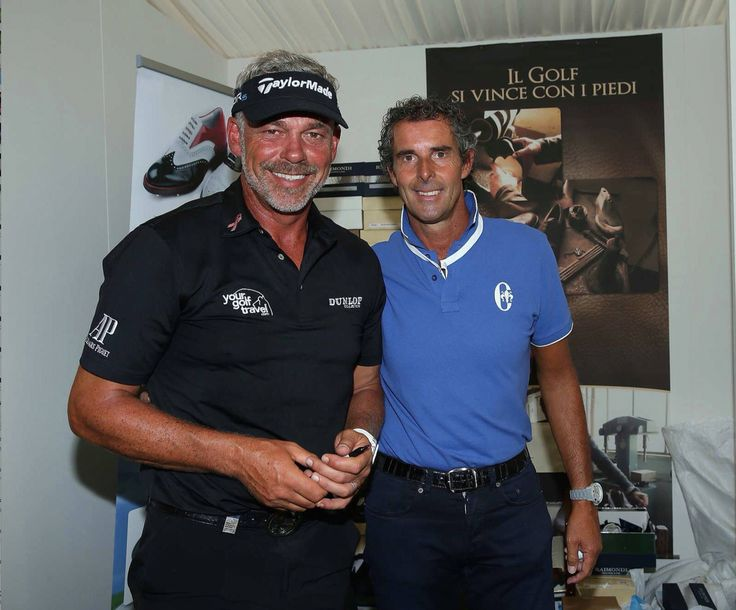 Darren Clarke e Raimondi..  #raimondigolfshoes #golfshoes #italiangolfshoes #madeinitaly #handmadeinitaly #italianstyle #raimondisfriends #originali #italy #golf #shoes #man #woman golf shoes