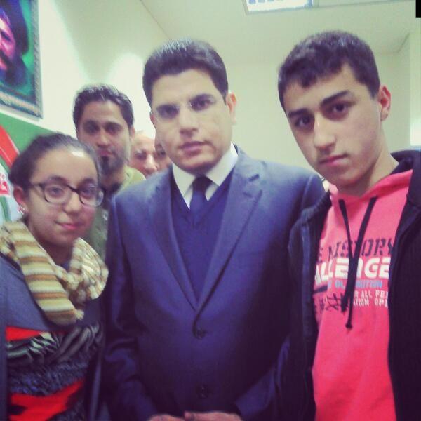 With Mr. Salem Zahran at Maarake
