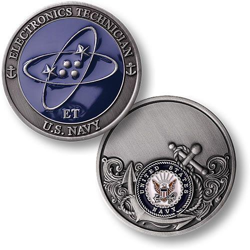 Electronics Technician - Enamel - Coin