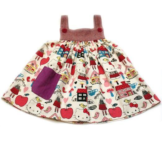misha lulu hello kitty jumper: Little Girls, Hello Kitty Dress, Kids Clothes, Lulu Girls, Lulu Hello, Kitty Jumper, Misha Lulu, Kiddo, Girl Jumpers
