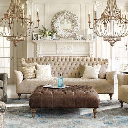 Fancy   Fiona Tufted Sofa | Arhaus Furniture