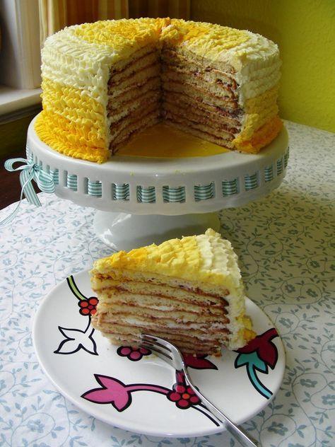 Milchmädchen-Torte...kommt auf die Liste zum ausprobieren...
