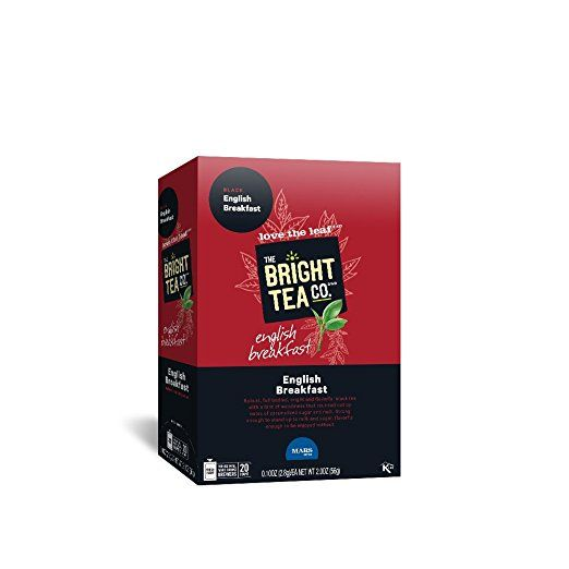 THE BRIGHT TEA CO., English Breakfast Tea Freshpacks for MARS DRINKS FLAVIA Brewer, 20 Packets