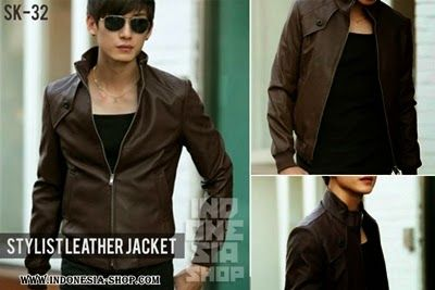 Fashion Korea: Jaket kulit - Fashion korean style