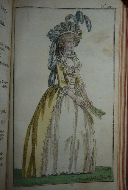 16 The Journal des Luxus und der Moden, 1787