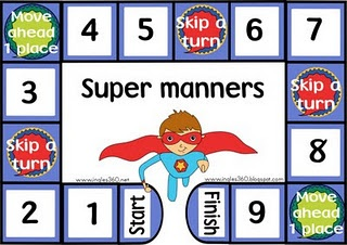 Super Manners game