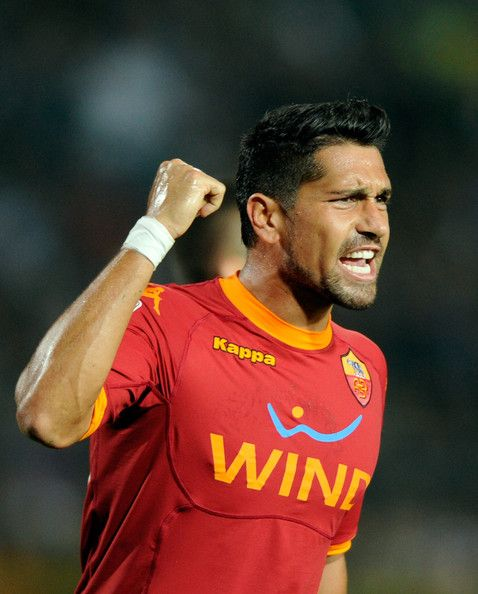Italian Football ~ #Italian #Football #Soccer #Players #Sport ~ Marco Borriello of AS Roma during the Serie A match ...