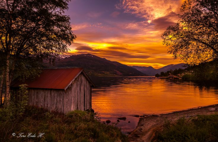Photo Just a perfect evening by Tore H. on 500px - Norway