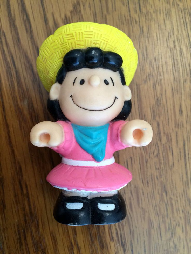 Lucy Garden Toy, Peanuts Pvc Toy, Vintage Peanuts Toy, Peanuts Gang Figurine, Happy Meal Toy, Replacement Part by EllieMarieVintage on Etsy