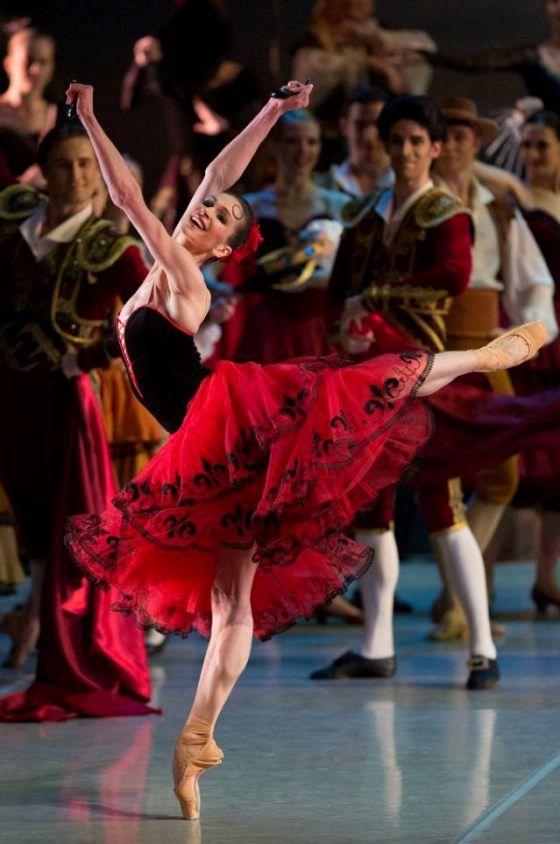 """Polina Semionova in """"Don Quixote"""", Mikhailovsky Ballet # Photo © The Mikhailovsky Theatre/© Stanislav Levshin"""