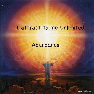 I attract to me unlimited abundance. https://neldascrafts.etsy.com