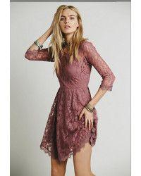 lace mauve dress - Google Search