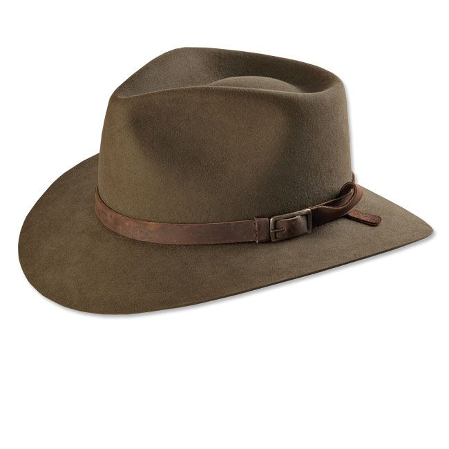 Just found this fur felt fedora muir woods fur felt hat for Orvis fishing hat