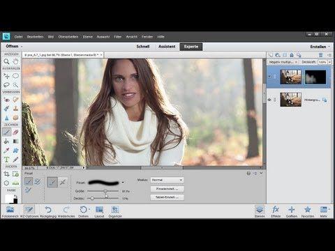 Lichtmalerei in Photoshop Elements 11 - Die Photoshop-Profis - Folge 135 - YouTube