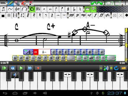 Music Score Pad-Free Notation: miniatura de captura de pantalla